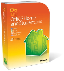 Office Home and Student 2010 32-bit/x64 Polska wersja, DVD